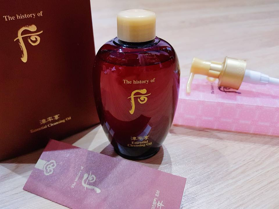 Whoo Jinyulhyang Essential Cleansing Oil
