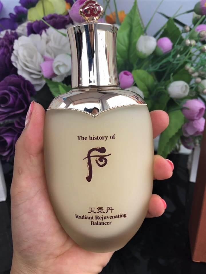 Nước cân bằng Whoo Cheongidan Radiant Rejuvenating Balancer