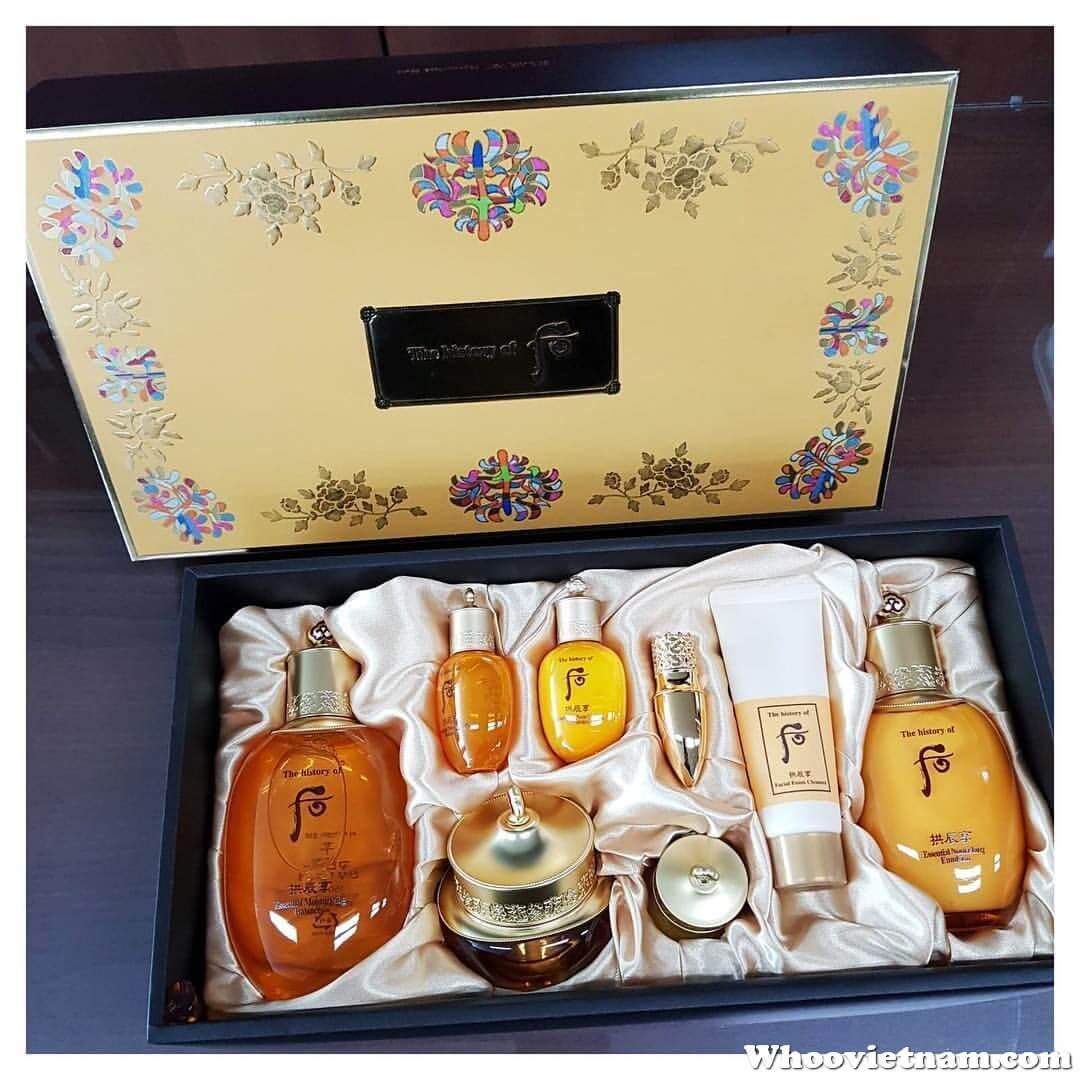 Bộ Set Whoo vàng dưỡng ẩm Gongjinhyang Special Set
